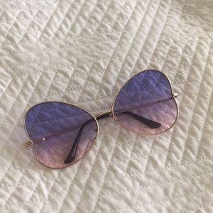 Purple Sunglasses.